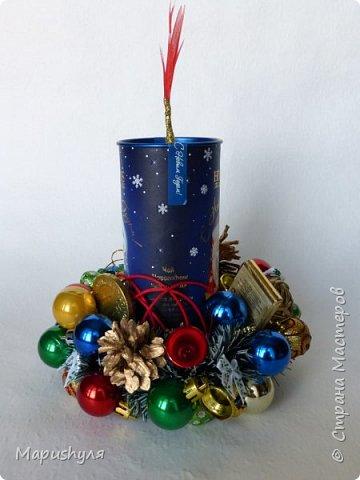 Здравствуйте, дорогие жители Страны! Сегодня хочу показать работы к Новому году. Начну, пожалуй, с бутылочки новогоднего напитка. фото 16