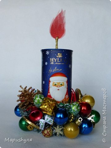 Здравствуйте, дорогие жители Страны! Сегодня хочу показать работы к Новому году. Начну, пожалуй, с бутылочки новогоднего напитка. фото 13