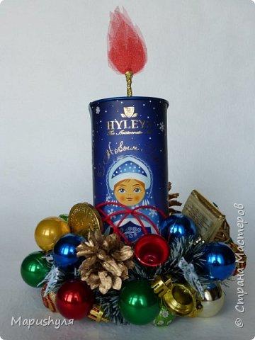 Здравствуйте, дорогие жители Страны! Сегодня хочу показать работы к Новому году. Начну, пожалуй, с бутылочки новогоднего напитка. фото 14