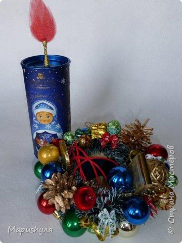Здравствуйте, дорогие жители Страны! Сегодня хочу показать работы к Новому году. Начну, пожалуй, с бутылочки новогоднего напитка. фото 15