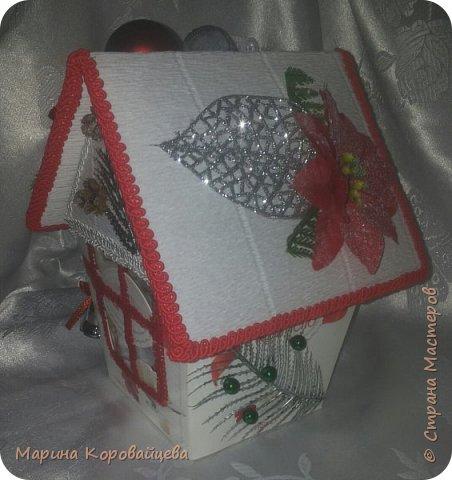 Скоро, скоро Новый Год!!! Спасибо огромное Ирине Рязаночке за идею и мастеркласс! До неё мне конечно учиться и учиться, но я старалась. :) фото 9