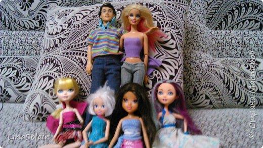 Всем привет, с вами Лина Солаир, и сегодня я познакомлю вас с нашими куклами. Сразу хочу извиниться перед вами за качество фото. Просто снимаю на телефон. Итак, давайте знакомиться! фото 1