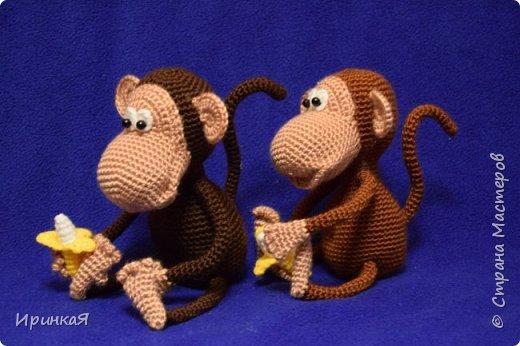 Еще пара обезьянок по МК Маргариты Яковлевой. фото 2