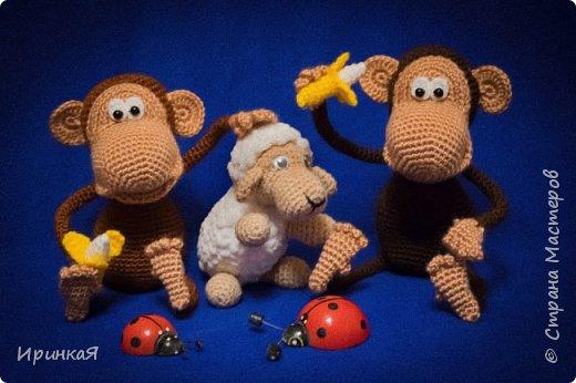 Еще пара обезьянок по МК Маргариты Яковлевой. фото 1