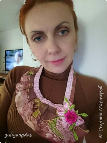 ну и зимняя коллекция галстуков...старыи мужскои галстук преврашаеЦа в модныи женскии:)))ети прекрасные повторюшки https://stranamasterov.ru/node/444366?c=favorite спасибо галсол:)))) фото 5