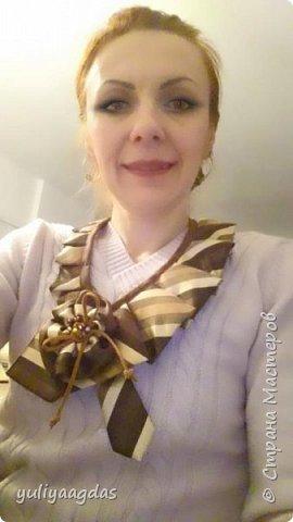 ну и зимняя коллекция галстуков...старыи мужскои галстук преврашаеЦа в модныи женскии:)))ети прекрасные повторюшки https://stranamasterov.ru/node/444366?c=favorite спасибо галсол:)))) фото 9