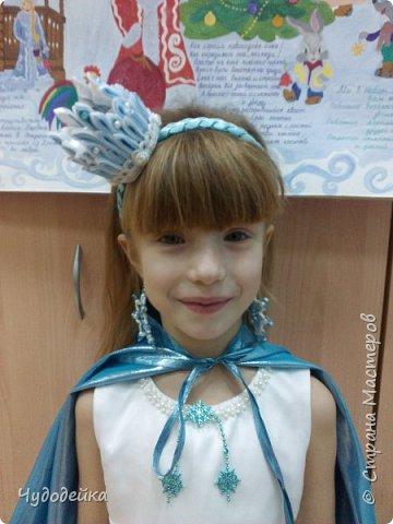 Моя мечта осуществилась, сделала дочке корону для костюма снежной королевы фото 1