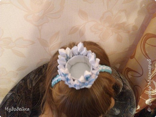 Моя мечта осуществилась, сделала дочке корону для костюма снежной королевы фото 4