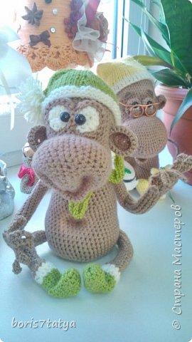 Всем привет! Хочу показать какие у меня получились обезьянки фото 7