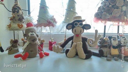 Всем привет! Хочу показать какие у меня получились обезьянки фото 11