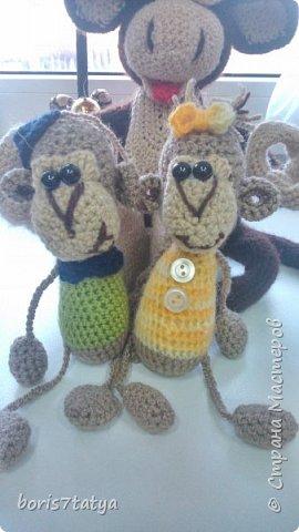 Всем привет! Хочу показать какие у меня получились обезьянки фото 13