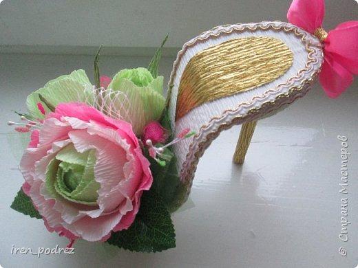 Вот такие чудесные туфельки получились! фото 2