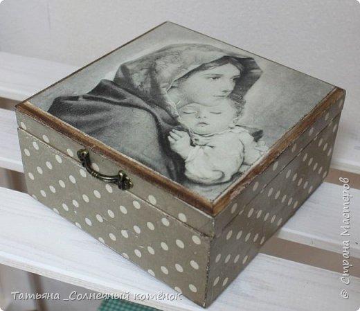 Шкатулочка для рукоделия фото 1