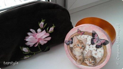 Шкатулочка для девочки и косметичка фото 1