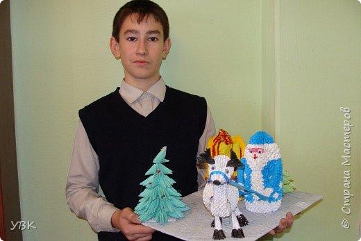Новогодняя композиция для школьного конкурса. фото 1