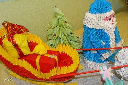 Новогодняя композиция для школьного конкурса. фото 5