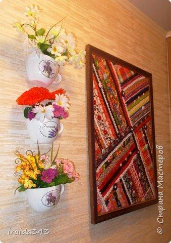 Текстильное панно фото 3