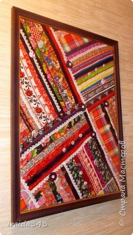 Текстильное панно фото 2