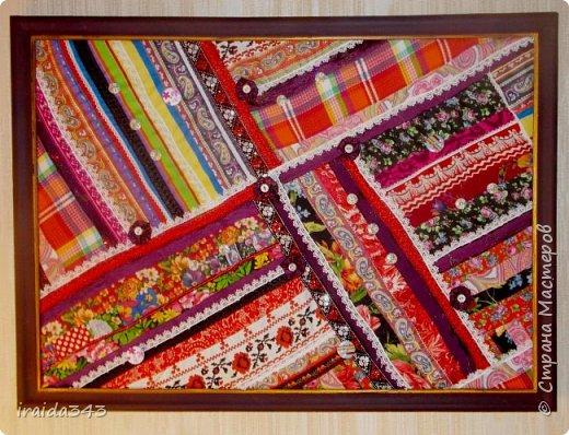 Текстильное панно фото 1