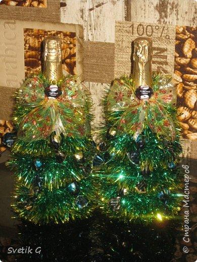готовим сувениры(декор бутылок) фото 1