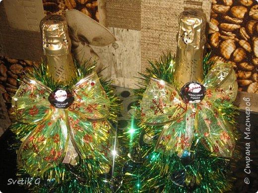 готовим сувениры(декор бутылок) фото 2