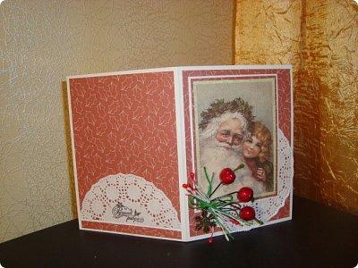 """Добрый вечер!!! Хочу Вам показать мои работы, которые я делала для игры """"Рождество приходит в дом"""". Посылочка уже получена, так что смотрите... фото 3"""