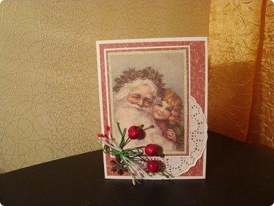 """Добрый вечер!!! Хочу Вам показать мои работы, которые я делала для игры """"Рождество приходит в дом"""". Посылочка уже получена, так что смотрите... фото 2"""
