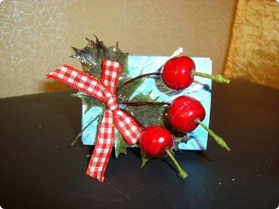 """Добрый вечер!!! Хочу Вам показать мои работы, которые я делала для игры """"Рождество приходит в дом"""". Посылочка уже получена, так что смотрите... фото 5"""