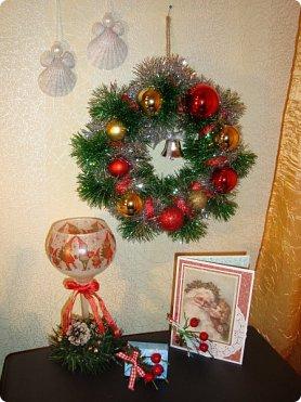 """Добрый вечер!!! Хочу Вам показать мои работы, которые я делала для игры """"Рождество приходит в дом"""". Посылочка уже получена, так что смотрите... фото 14"""