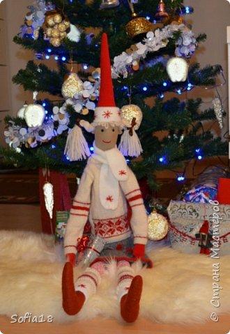 Гномик Майлег родился перед самым Новым Годом!  фото 1