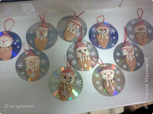 Еще раз здравствуйте! хочу показать новогодние работы своих учеников. Вот такие дед морозики получились у третьеклашек. Спасибо большое за МК: https://stranamasterov.ru/node/476488?c=favorite фото 17