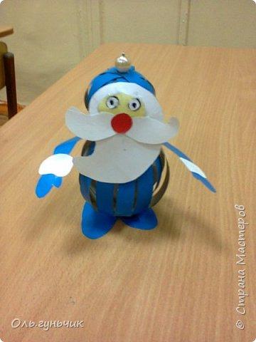 Еще раз здравствуйте! хочу показать новогодние работы своих учеников. Вот такие дед морозики получились у третьеклашек. Спасибо большое за МК: https://stranamasterov.ru/node/476488?c=favorite фото 2