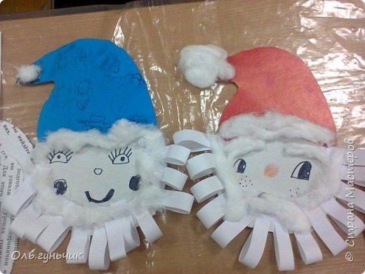 Еще раз здравствуйте! хочу показать новогодние работы своих учеников. Вот такие дед морозики получились у третьеклашек. Спасибо большое за МК: https://stranamasterov.ru/node/476488?c=favorite фото 44