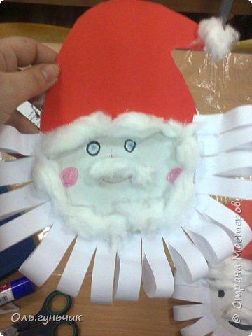Еще раз здравствуйте! хочу показать новогодние работы своих учеников. Вот такие дед морозики получились у третьеклашек. Спасибо большое за МК: https://stranamasterov.ru/node/476488?c=favorite фото 46