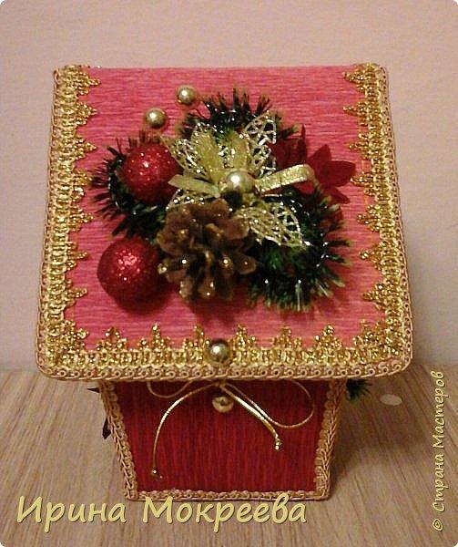 Домик из коробки раффаэло. фото 3