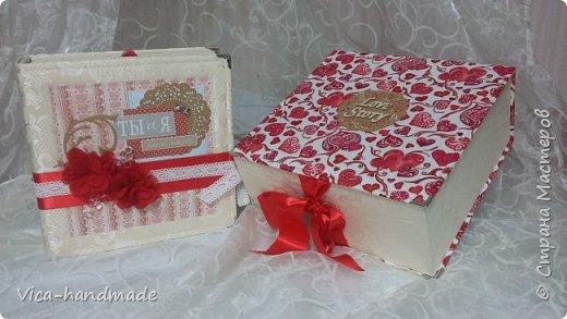 Привет!!! Скоро Новый год!!! С чем всех и поздравляю!!! А у меня ЛЮБОВЬ!!! Альбом заказала мне девушка в подарок для мужа!!! Как обычно, с коробкой для хранения... фото 1