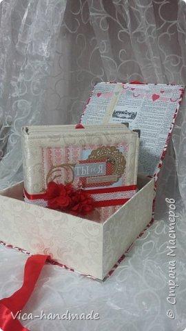 Привет!!! Скоро Новый год!!! С чем всех и поздравляю!!! А у меня ЛЮБОВЬ!!! Альбом заказала мне девушка в подарок для мужа!!! Как обычно, с коробкой для хранения... фото 3