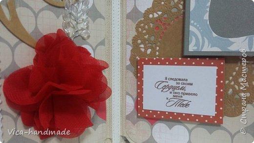 Привет!!! Скоро Новый год!!! С чем всех и поздравляю!!! А у меня ЛЮБОВЬ!!! Альбом заказала мне девушка в подарок для мужа!!! Как обычно, с коробкой для хранения... фото 18