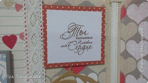 Привет!!! Скоро Новый год!!! С чем всех и поздравляю!!! А у меня ЛЮБОВЬ!!! Альбом заказала мне девушка в подарок для мужа!!! Как обычно, с коробкой для хранения... фото 19