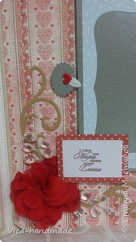 Привет!!! Скоро Новый год!!! С чем всех и поздравляю!!! А у меня ЛЮБОВЬ!!! Альбом заказала мне девушка в подарок для мужа!!! Как обычно, с коробкой для хранения... фото 28