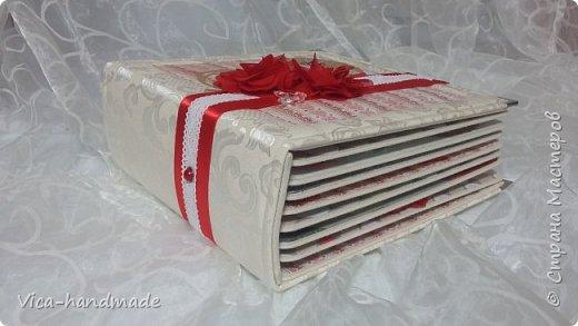 Привет!!! Скоро Новый год!!! С чем всех и поздравляю!!! А у меня ЛЮБОВЬ!!! Альбом заказала мне девушка в подарок для мужа!!! Как обычно, с коробкой для хранения... фото 11