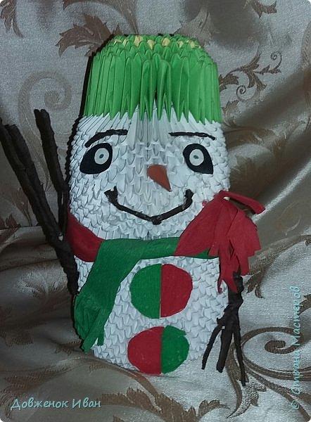Добрый день, жители страны мастеров, показываю вам своего большого снеговика . За основу взял мк Татьяны Просняковой - https://stranamasterov.ru/technics/modules-snowman?c=popular_inf_328%2C451