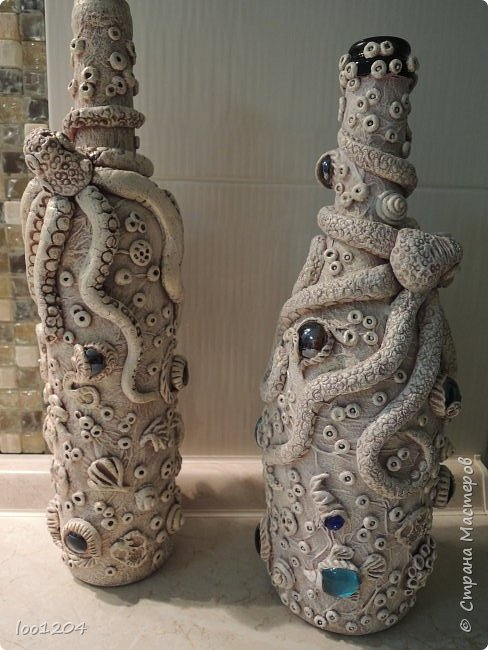 бутылка декоративная  фото 4