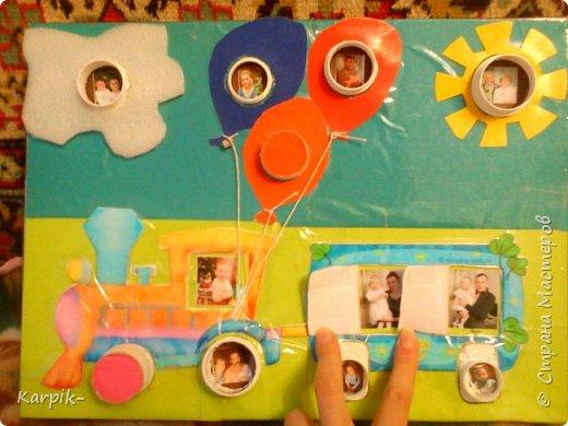 Добрый вечер страна!!! Оформила коробку для дочкиного игрушечного транспорта. фото 2