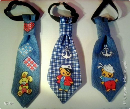 Коллекция галстуков для маленьких джентельменов фото 1
