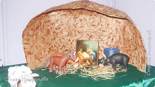 В воскресной школе готовимся к Рождеству Христову. Коллективная работа детей. фото 2