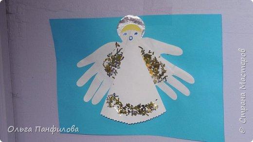 В воскресной школе готовимся к Рождеству Христову. Коллективная работа детей. фото 6