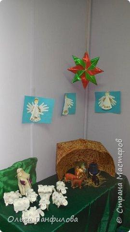 В воскресной школе готовимся к Рождеству Христову. Коллективная работа детей. фото 1