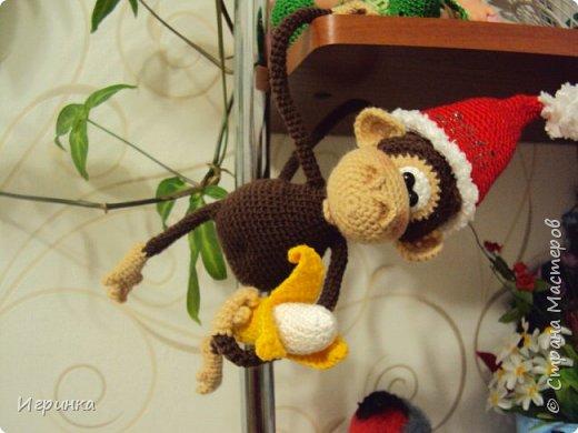 Здравствуйте все! Представляю еще одну обезьянку. Связана она по МК Марагариты Яковлевой. фото 4