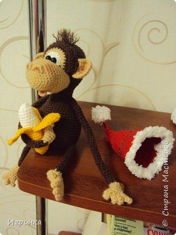 Здравствуйте все! Представляю еще одну обезьянку. Связана она по МК Марагариты Яковлевой. фото 3
